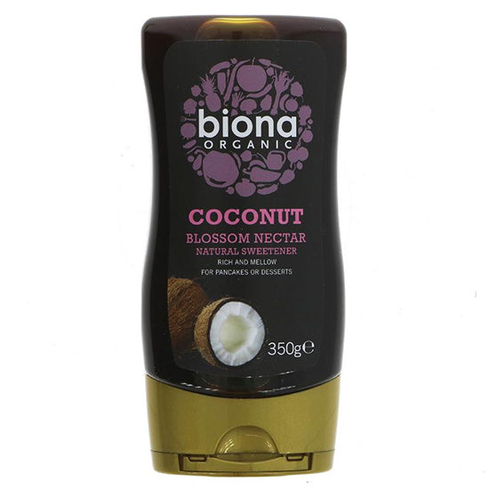 Coconut blossom nectar Organic squeezy bottle