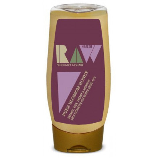 Raw Orange Blossom Honey squeezy bottle Organic