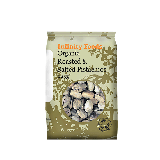 Pistachio nuts roasted & Salted Organic