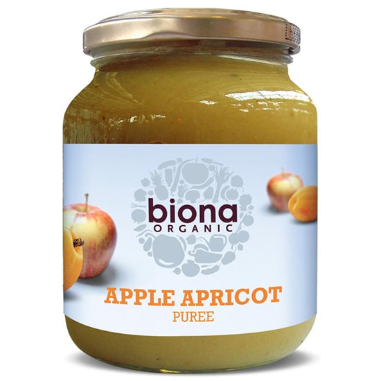 Apple & Apricot Puree Organic