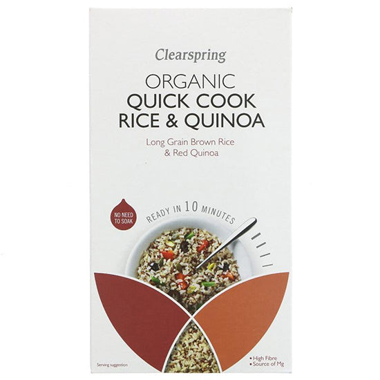 Quick Cook Rice & Quinoa Organic