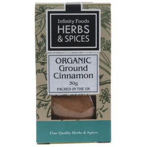 Cinnamon Ground Organic