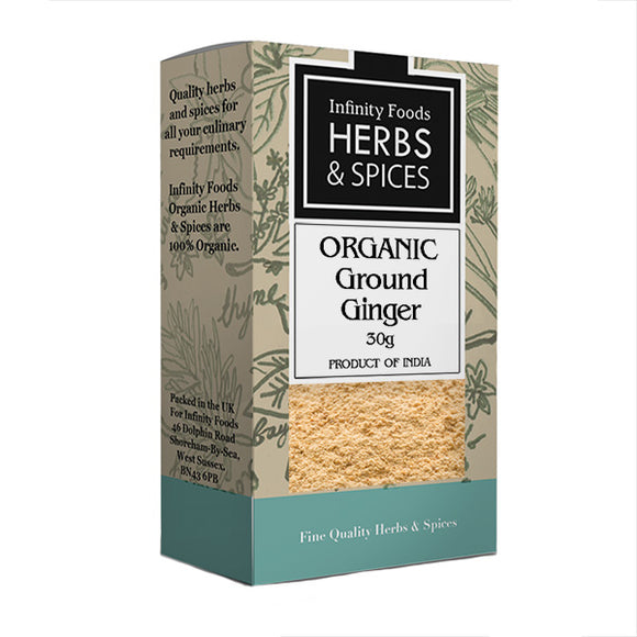Ground Ginger Organic