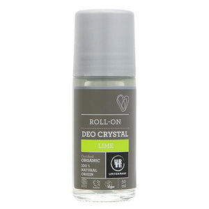 Crystal Deodorant Lime roll on