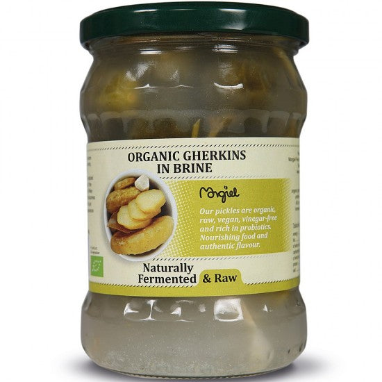 Raw Gherkins Fresh in brine Organic