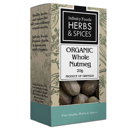 Whole Nutmeg organic