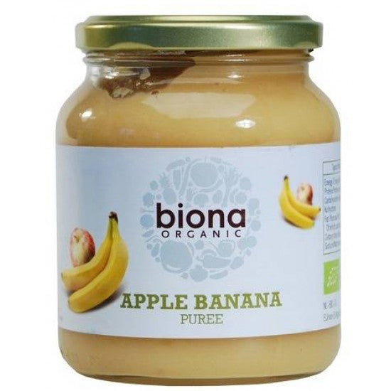 Apple & Banana Puree Organic