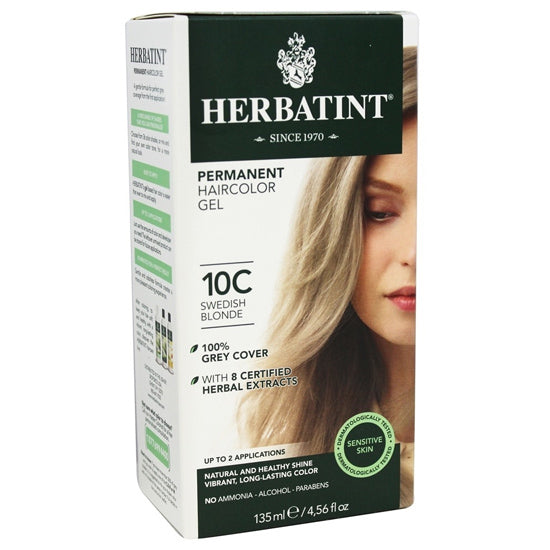 10C  Swedish Blonde  Hair Colour