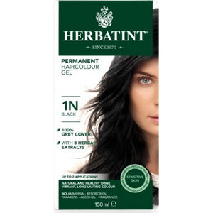 1N  Black  Hair Colour
