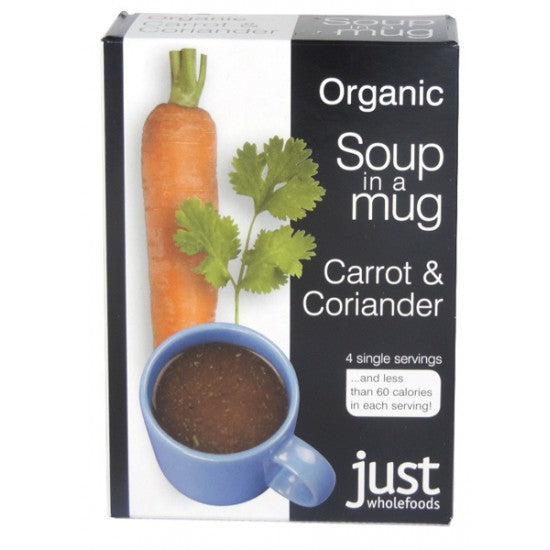 Instant Carrot & Coriander Soup Instant Organic