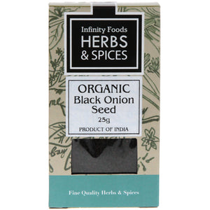 Black Onion Seeds (Nigella) Organic