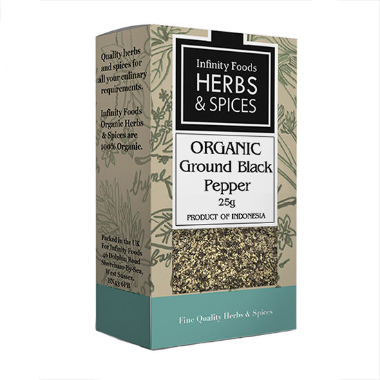 Ground Black Pepper Organic