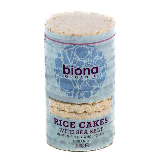 Rice Cakes Salted  Organic