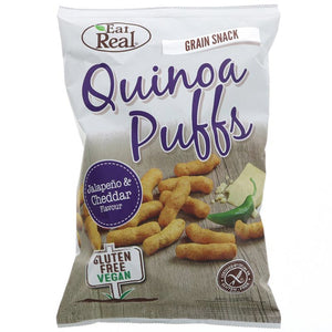 Quinoa jalapeno Puffs with Cheese