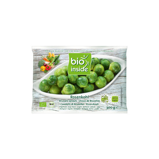 Frozen Brussel Sprouts Organic