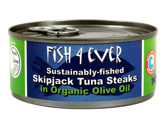 Skipjack Tuna in Organic Olive Oil