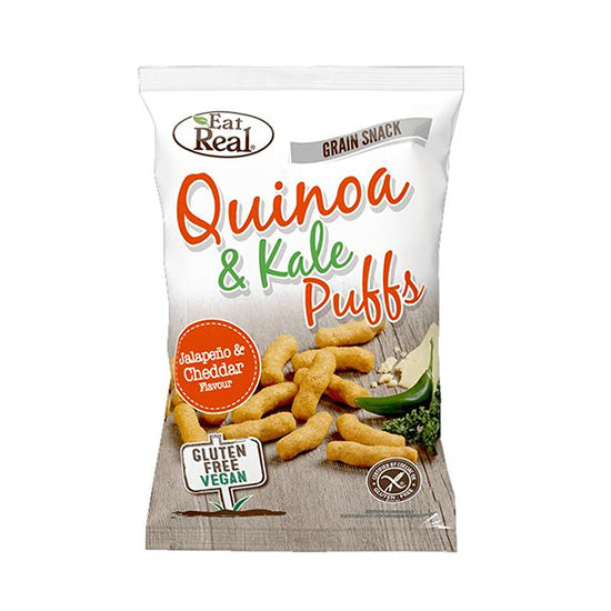 Quinoa Kale Puffs with Jalapeno