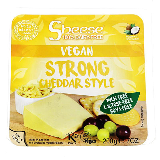 Cheese Strong Cheddar