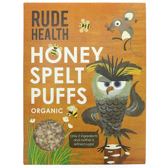 Puffed Spelt with honey Organic