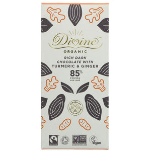 85% Dark Chocolate & Ginger Organic