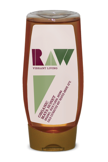 Raw Maya Honey squeezy bottle Organic