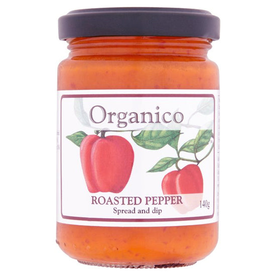 Roast Pepper Spread & Dip Organic