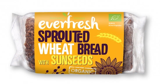 Sprouted Wheat Sunflower Bread