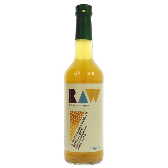 Raw Apple Cider Vinegar with Honey Organic
