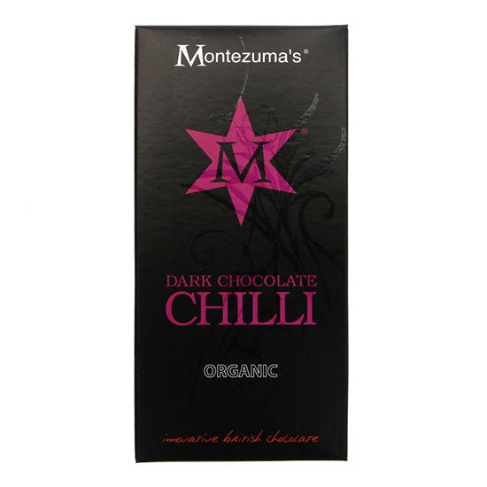 Dark Chocolate & Chilli Bar Organic