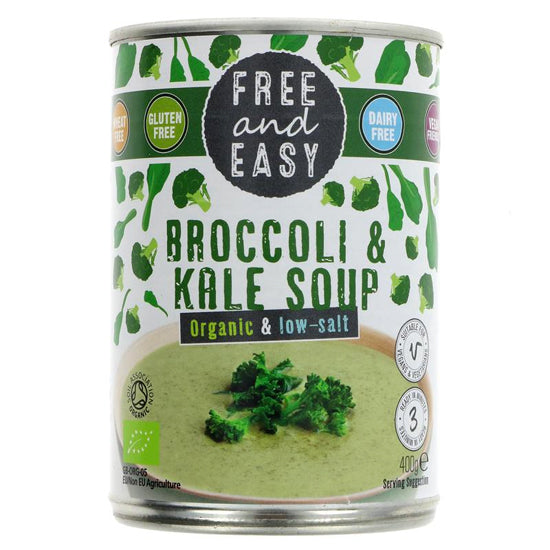 Broccoli & Kale Soup Organic
