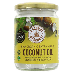 Raw Coconut Oil Organic glass jar