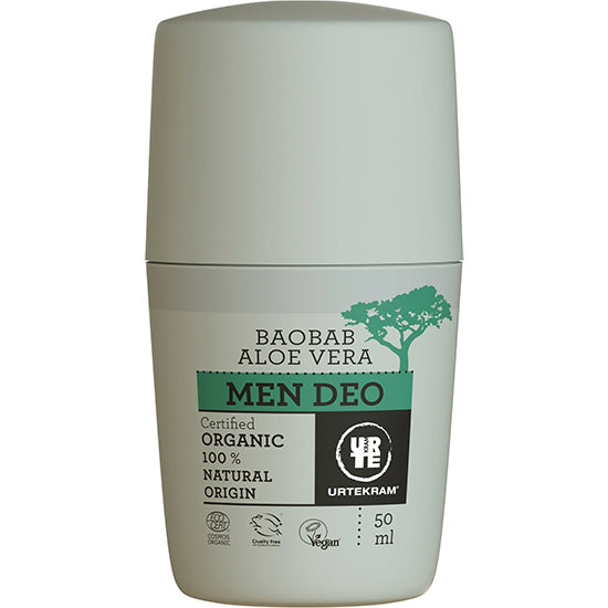 men's Deodorant roll on  Organic
