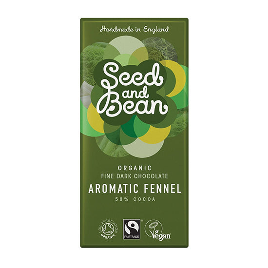 Aromatic Fennel Dark Chocolate Bar Organic