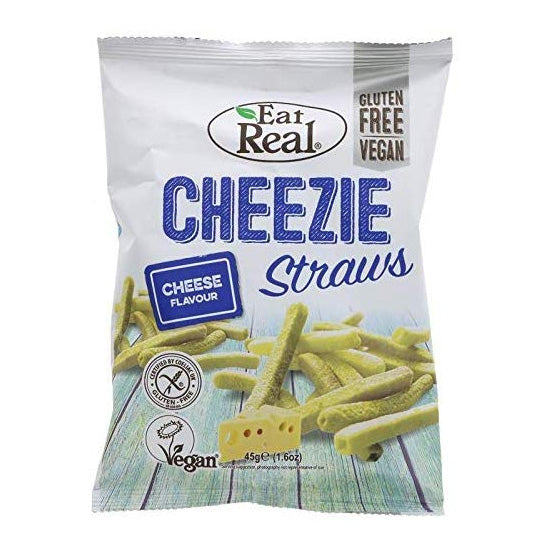 Cheezie Potato Straws Vegan