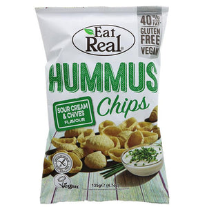 Hummus Sour Cream & Chives Chips