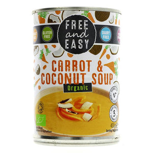 Carrot & Coconut Soup Organic