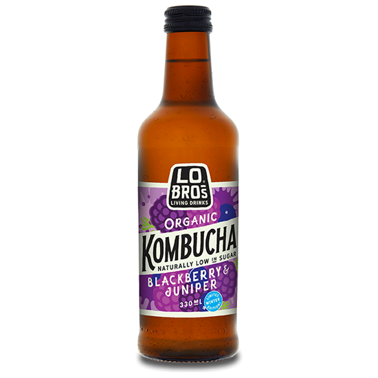 Blackberry & Juniper Kombucha Organic