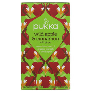 Wild Apple Cinnamon with Ginger Organic