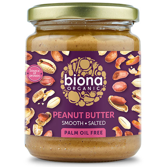 Peanut Butter Smooth Salted Organic