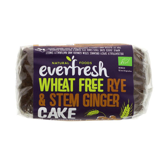 Rye Stem Ginger Cake Sprouted Organic