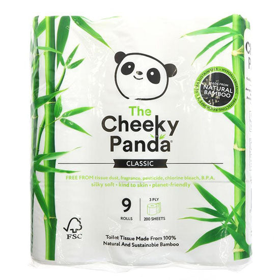 Natural Bamboo Toilet Tissue