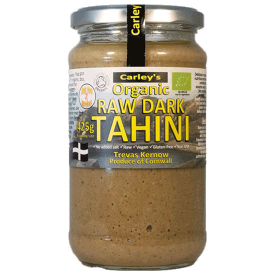 Raw Dark tahini Organic Fair trade