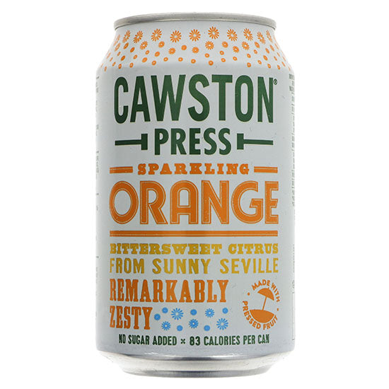Orange Sparkling can
