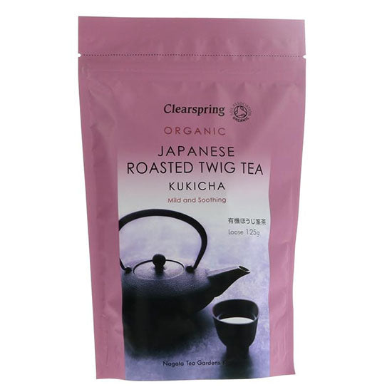 Kukicha Roasted Twig Tea  loose Organic
