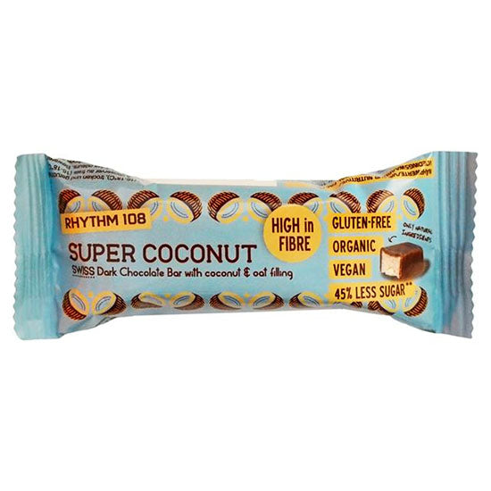 Super Coconut Dark Chocolate Bar Organic