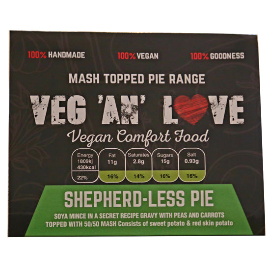 Shepherdless pie (Vegan)