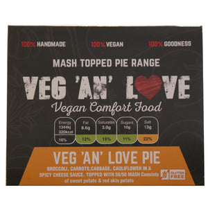 Veg and Love pie (Vegan)