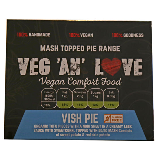 Vish pie (Vegan)
