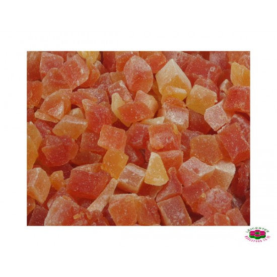 Papaya Diced + Sugar  So2