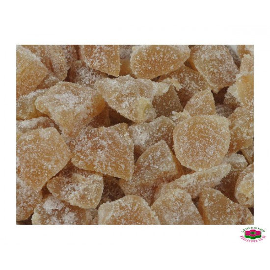 Ginger Crystallised Organic